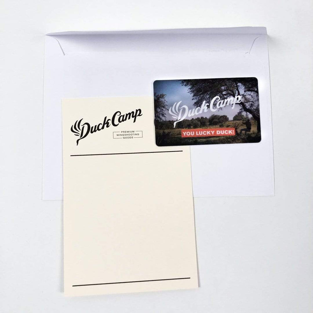 Physical Duck Camp Gift Card