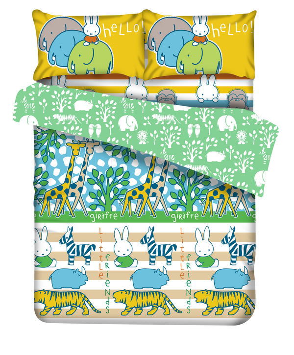 Miffy®  Soft Cloth Plus針床品套裝 (114)
