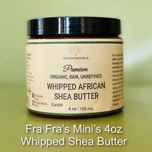 Unrefined Whipped Shea Butter