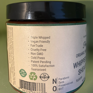 Fra Fra's Mini's | Premium Insect Whipped Raw Organic Shea Butter Blend - 4 oz