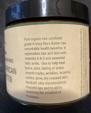 Fra Fra's Naturals | Premium Migraine Whipped Organic Raw Shea Butter Blend