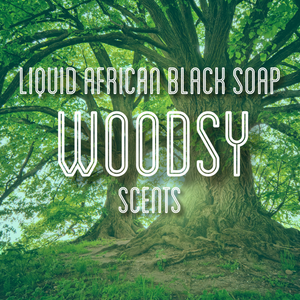 Fra Fra's Naturals | Premium Organic Raw Liquid African Black Soap - Woodsy Scents