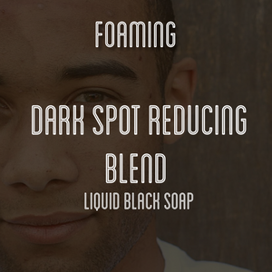 Fra Fra's Naturals | Premium Dark Spot Reducing Foaming African Black Soap Face and Body Wash