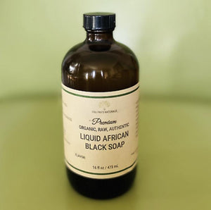 Fra Fra's Naturals| Premium Organic Raw Liquid African Black Soap - Fresh Scents