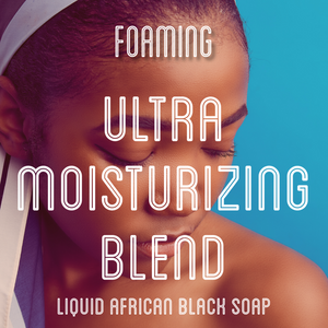Fra Fra's Naturals | Premium Ultra Moisturizing Foaming African Black Soap Face and Body Wash