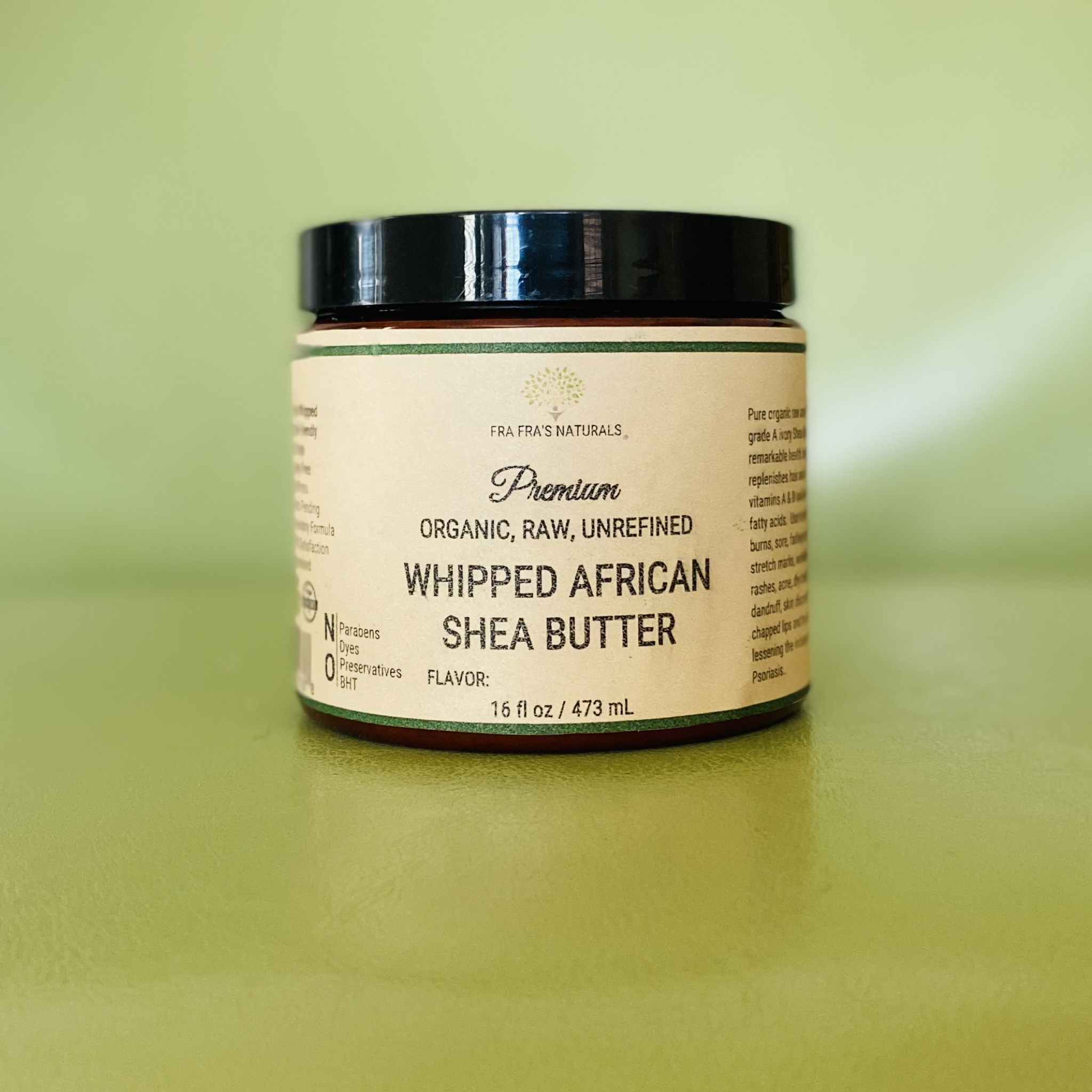 Organic Raw Unrefined Whipped Shea Butter  - Unscented