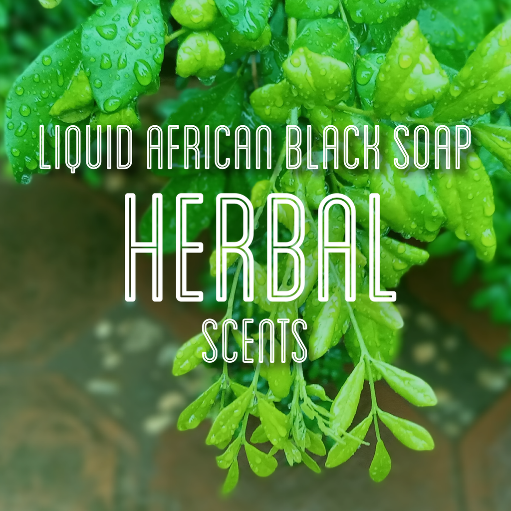 Fra Fra's Naturals | Premium Organic Raw Liquid African Black Soap - Herbal Scents