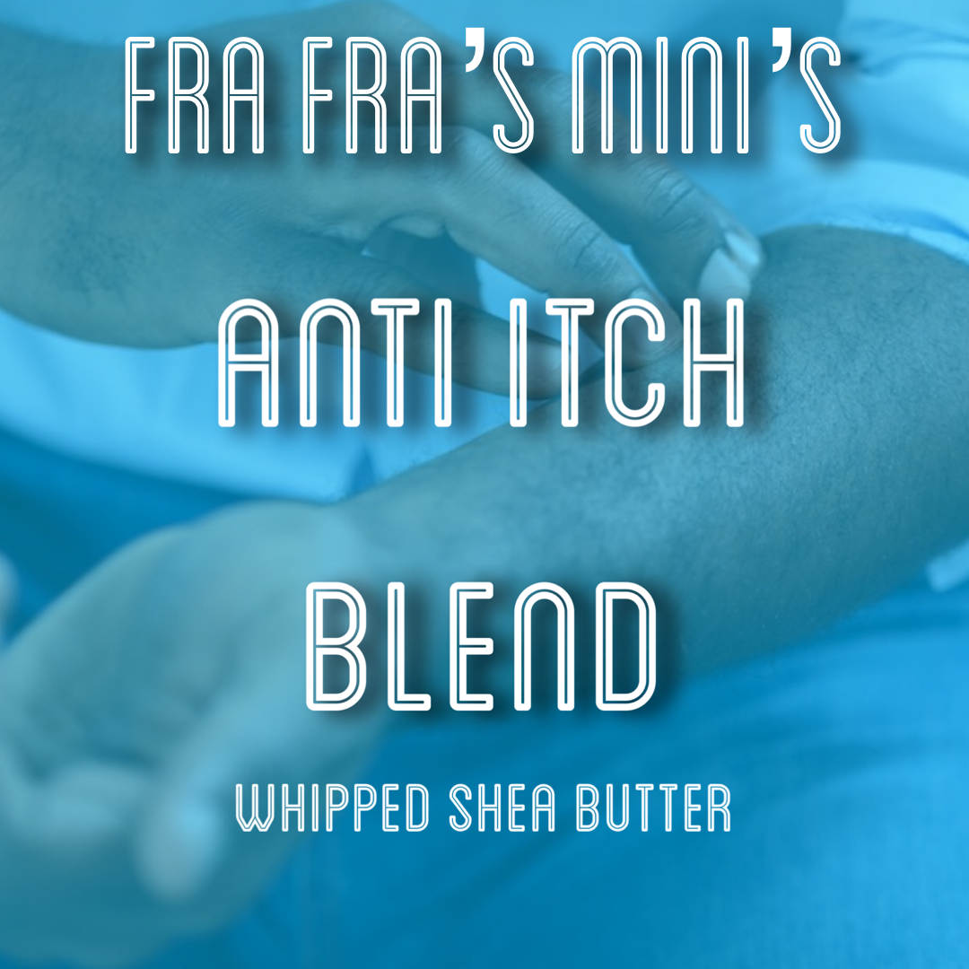 Shea butter inflammation anti itch
