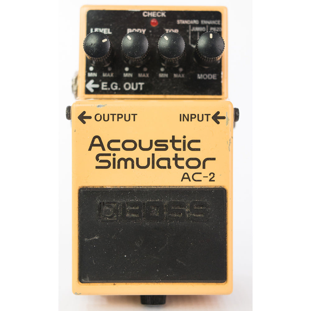 Boss AC-2 Acoustic Simulator Guitar Pedal