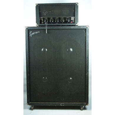 Early 70's Garnet Pro 200 Head with Matching Cab