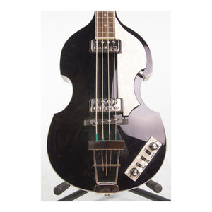 Hofner Violin Bass Guitar (Black Finish)