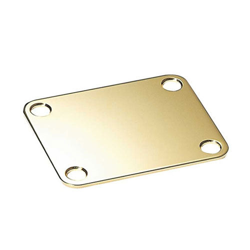 Gold Neckplate for Guitar or Bass