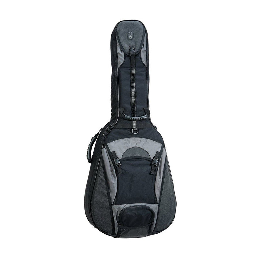 Levy's CPS20 Acoustic Guitar Gig Bag (Black/Grey)
