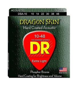 DR Strings DSA-10 (Extra Light) Guitar Strings