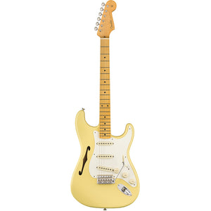 Fender Eric Johnson Stratocaster Thinline (Vintage White)