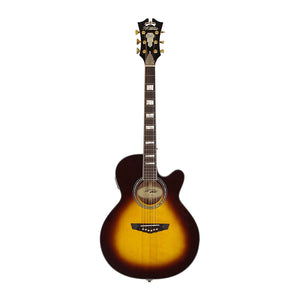 D'Angelico Excel Mercer (Vintage Sunburst) Acoustic Guitar