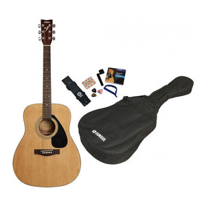 Yamaha F310P Acoustic Guitar Pack (Natural Finish)