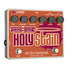 Electro-Harmonix Holy Stain Distortion/Reverb/Pitch/Tremolo Pedal