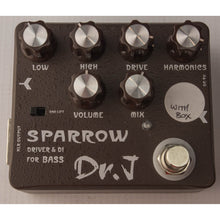 Dr. J Sparrow DI and Bass Driver Pedal