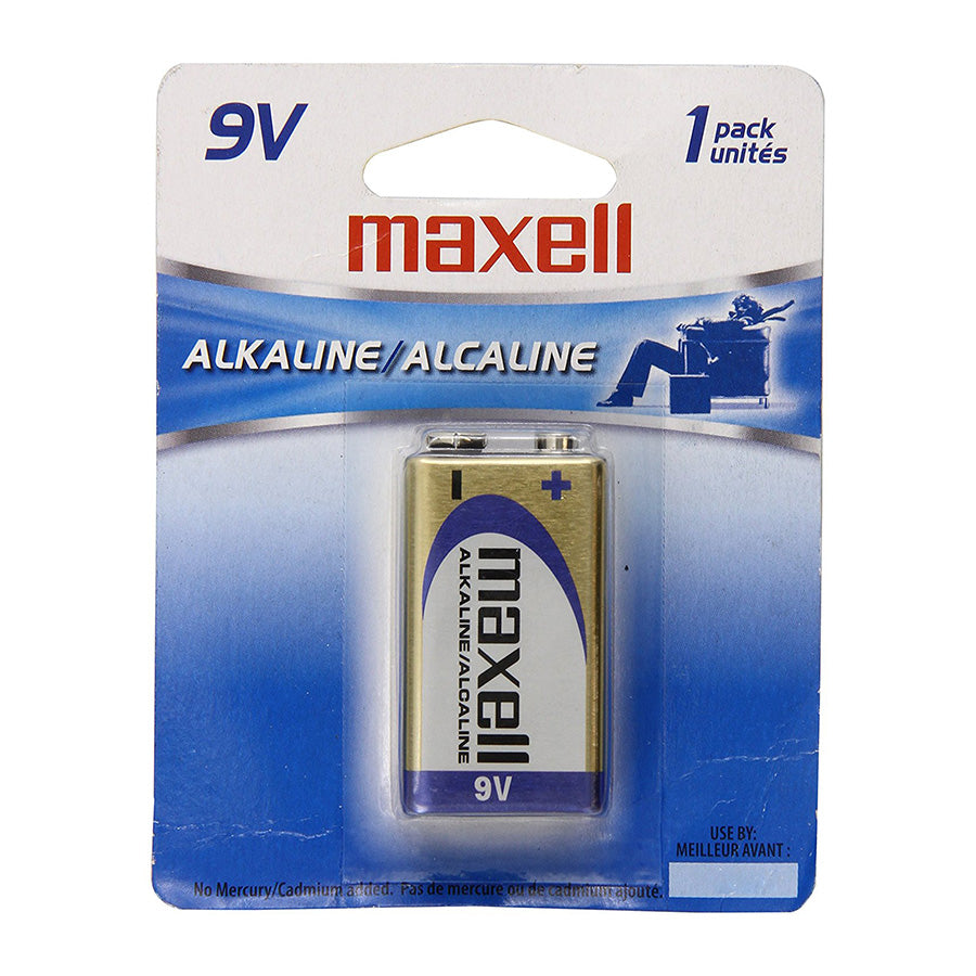 Maxell BM-9V Blister Pack 9V Battery (Each)