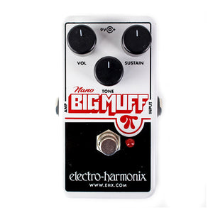 Electro-Harmonix Nano Big Muff Pi Distortion Sustain Pedal