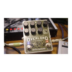 Electro-Harmonix Operation Overlord Allied Overdrive Pedal