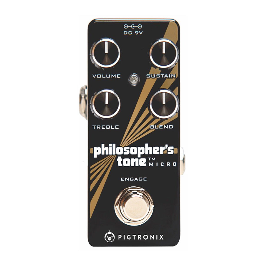 Pigtronix Philosophers Tone Micro Sustain Pedal
