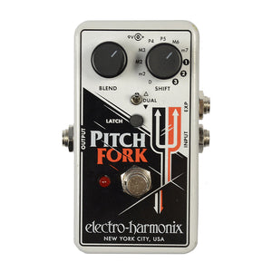 Electro-Harmonix Pitch Fork Polyphonic Pitch Shifter Pedal