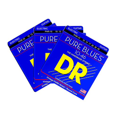 DR Strings Pure Blues Electric Guitars