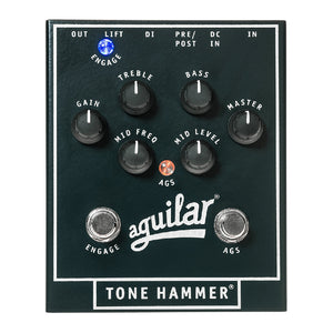 Aguilar Tone Hammer 3-Band Preamp, DI and Overdrive Pedal