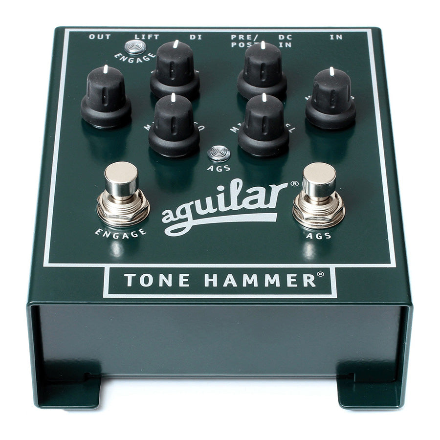 aguilar tone hammer 3 band preamp di and overdrive pedal london guitars. Black Bedroom Furniture Sets. Home Design Ideas