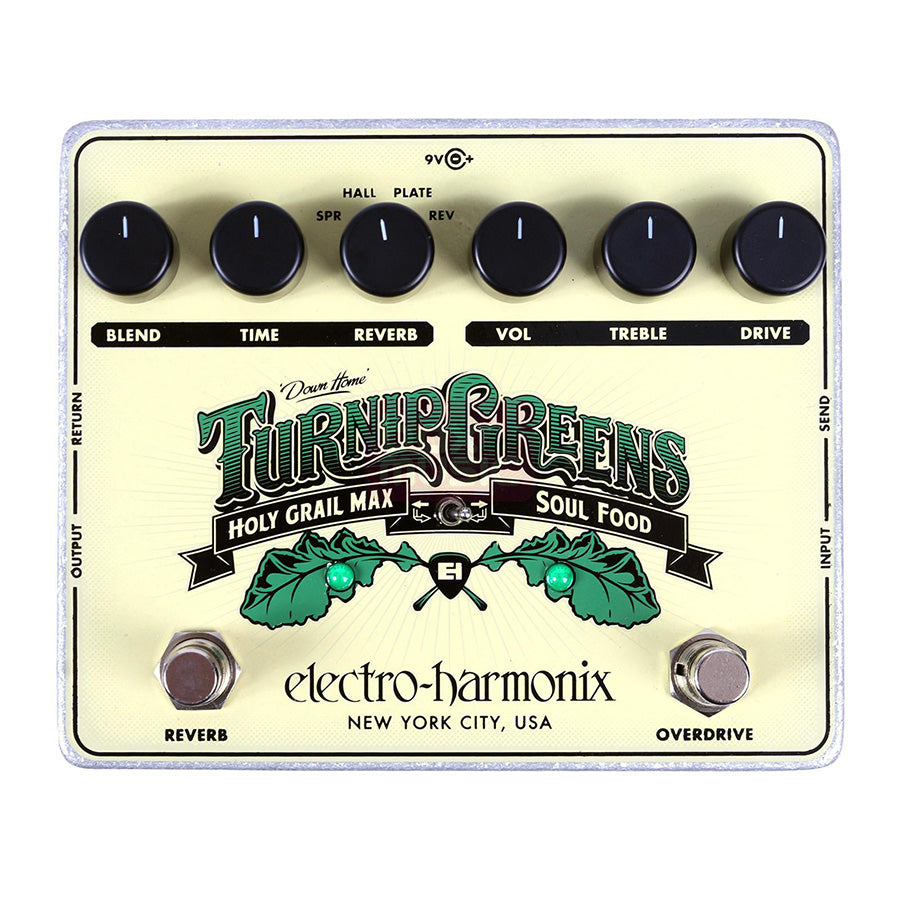 Electro-Harmonix Turnip Greens (Soul Food and Holy Grail Mix)