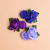 Aoife Oversized Rose Clip in Galaxy