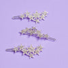 Celeste Crystal Shooting Star Barrette Clip