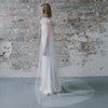 Cloud Nine Ostrich Feather and Tulle Cape