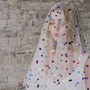 Disco Dreams Metallic Polka Dot Veil