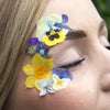 Face Florals Mixed Flower Tattoos