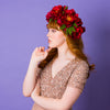 EIRA JEWEL OVERSIZED PEONY CROWN