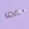 Elektra Crystal Word Bobby Pin