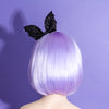 Glitter Bat Bow Headband