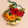 Jora Cabbage Rose and Succulent Crown