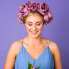 Lilac Dreams Oversized Peony Crown