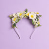 Meadow Headband in Spring Posy