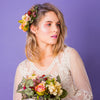 Meadow Side Headpiece in English Hedgerow