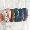 MIA SATIN KNOTTED HEADBAND