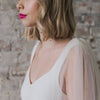 Ombré Dreams Dip Dye Bridal Cape