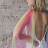 Over the Rainbow Tulle Bridal Cape