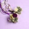 Rhiannon Ranunculus and Dusky Foliage Bouquet