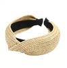 Summer Rattan Raffia Straw Headband