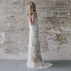 Secret Garden Embroidered Bridal Cape